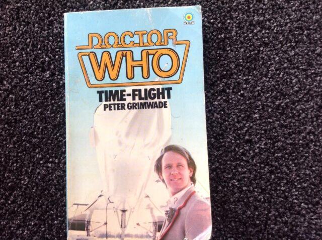 Doctor Who Time Flight Peter Grimwade 1983 vintage