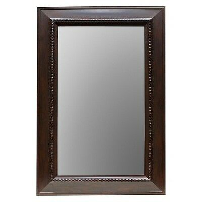 "Threshold Wall Mirror - Brown (24x36"")"