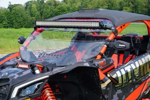 Can-Am Commander Maverick Folding Side Rear View Mirrors Dragonfire Racing