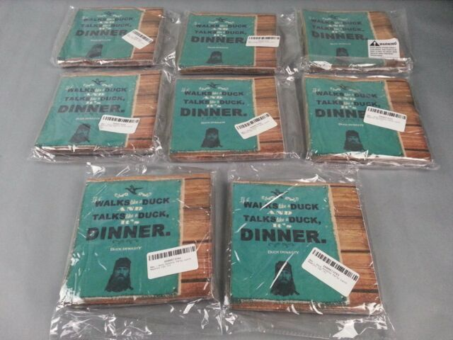 16 DUCK DYNASTY LUNCH NAPKINS ~ Birthday Party Supplies Dinner Large Robertson