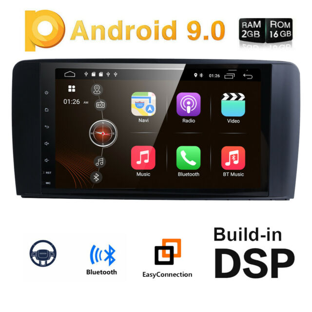 """9"""" Android 9.0 DAB+ Car Stereo DVD/CD/GPS Player Mercedes Benz ML/GL W164 X164"""