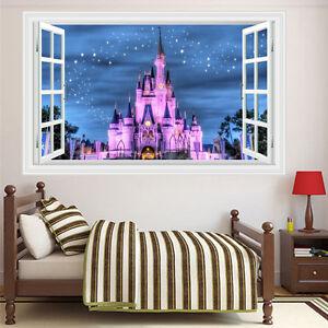 Image Is Loading New Diy Windows Disney Land Princess