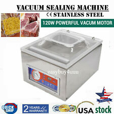 Dz 260c Commercial Automatic Vacuum Sealer Food Sealing Packing Machine 110v Usa