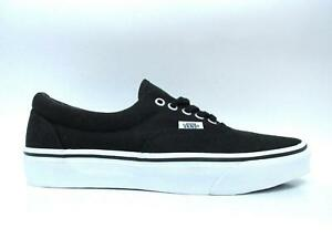 068bd42f2ed47f Mens VANS ERA MLX Black True White Canvas Trainers VN 0 TN99YF