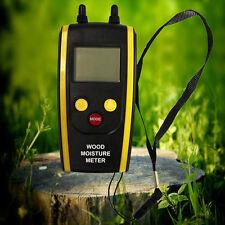 Professional Digital LCD Wood Moisture Meter 6% ~ 48% For Plants HT-610 F5