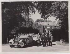 Photo Kaiser Wilhelm II König von Preußen im Exil in Doorn Beisetzung Sarg 1941