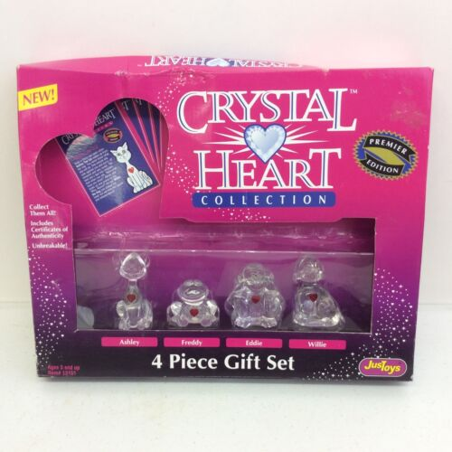 1994 Just Toys Crystal Heart Collection w Box