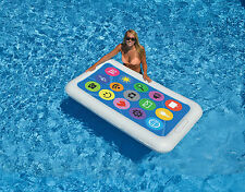 Swimline Smart Phone  Float Inflatable Swimming Pool Toy Raft WaterParty  Fun