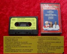MC White Christmas - Bing Crosby Louis Armstrong Nat King Cole - Musikkassette