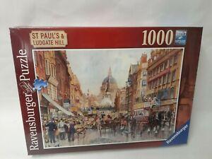 1000-Pieces-Ravensburger-Puzzle-Unites-Paul-S-amp-Ludgate-Hill-Neuf-B-Ware