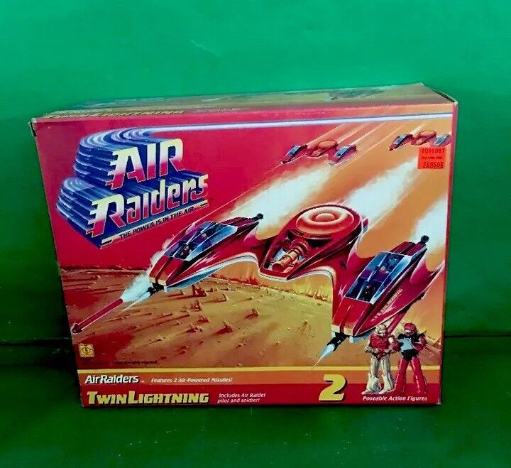 Air Raiders doble iluminación 1987 por Hasbro Nuevo En Caja NO.5525