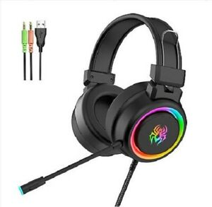 Gaming-Headset-Super-Bass-Gaming-Headset-Rainbow-Spide-Light-Skin-Friendly