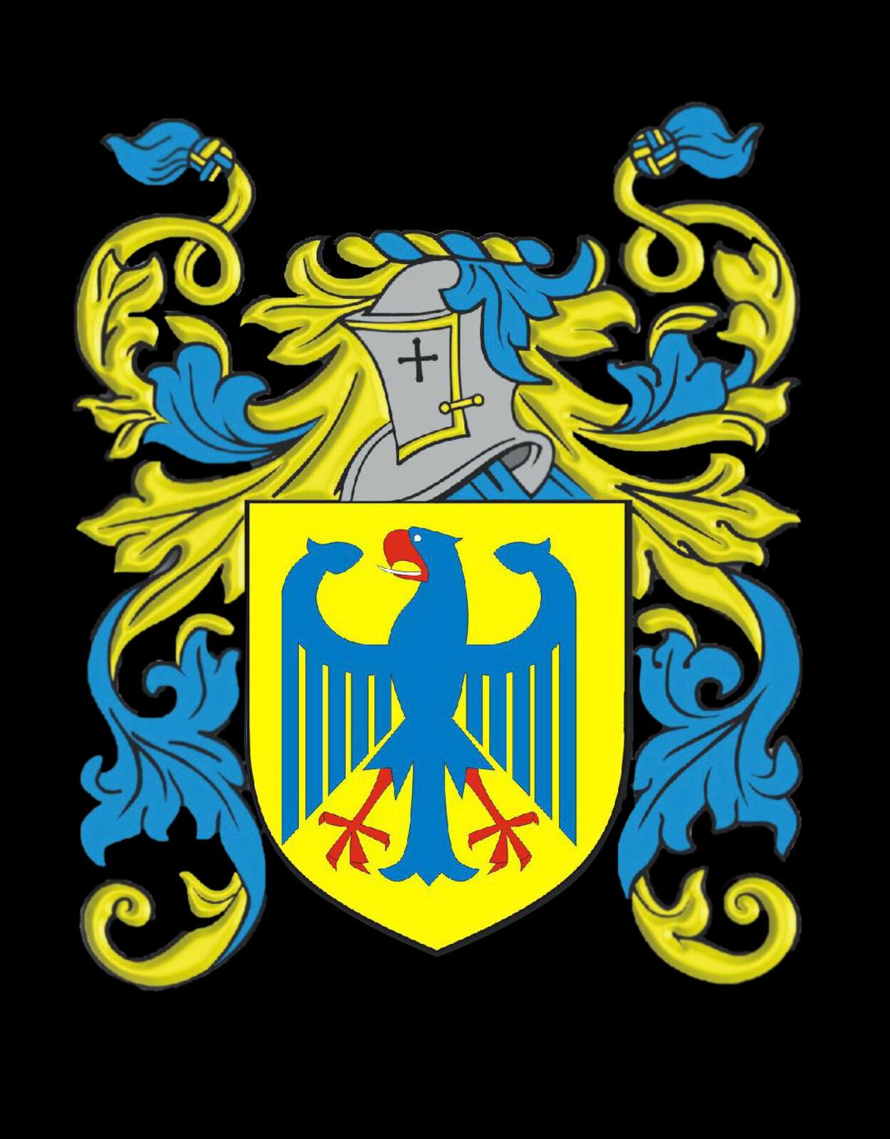 Batten Inghilterra STEMMA DI FAMIGLIA FAMIGLIA FAMIGLIA cognome STEMMA Gemelli custodia personalizzata fbf8a1
