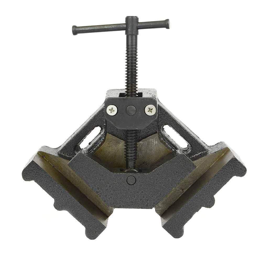 4  Jaw 90 Degree Welder Wood Molding Angle Corner Clamp Bench Vise Welding