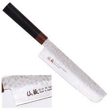 KANETSU Japanisches Damast Kochmesser Gemüsemesser Nakiri Messer Küchenmesser