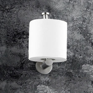 1x-Modern-Silver-Toilet-Roll-Holder-Towel-Ring-Paper-Towel-Holder-Bathroom
