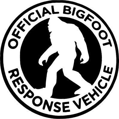 I/'D RATHER BE SQUATCHIN/' Sticker Vinyl Decal window car funny big foot sasquatch