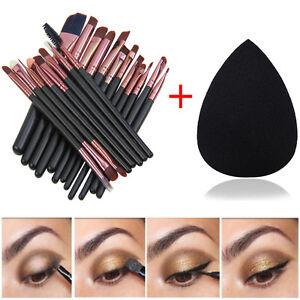 pinceaux de maquillage Set Poudre Foundation Eyeshadow Brosse de Yeux