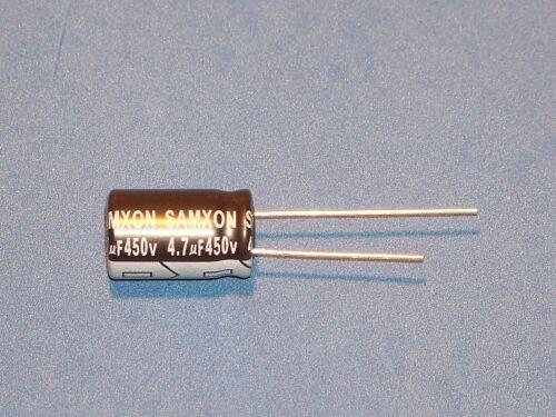 4,7uF Ø10x16mm // 450V // 105°C Elko 10 Stk. 4,7µF radial