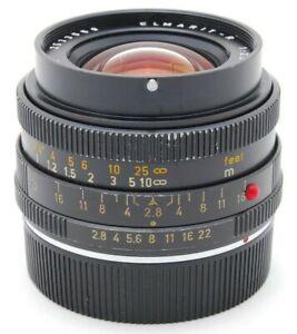 ausgezeichnete-5-Leica-Leitz-Elmarit-R-Wetzlar-28mm-f-2-8-2cam-aus-Japan