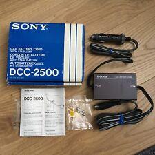 SONY DCC-2500 car Battery Cord stabilizer For Sony Betamax SL-F1E / F1UB New Rar