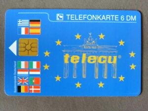O-615-12-93-MINT-Ongebruikt-Duitsland-TELECU-opl-10000
