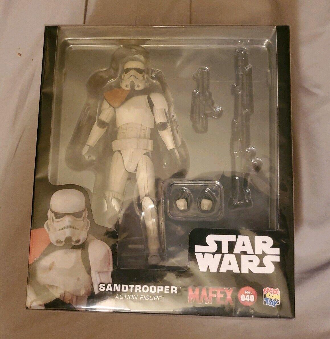 MAFEX Star Wars No.040 Episode IV A New Hope Sandtrooper Medicom US Seller