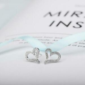 """Super Fashion Tiny /""""Musical Note/"""" Silver//Gold Cubic Zirconia Stud Earring"""