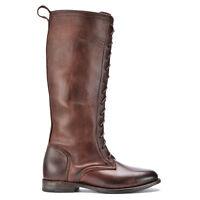 Vintage Shoe Company Eunice Chocolate Harness Womens Size: 6 $389