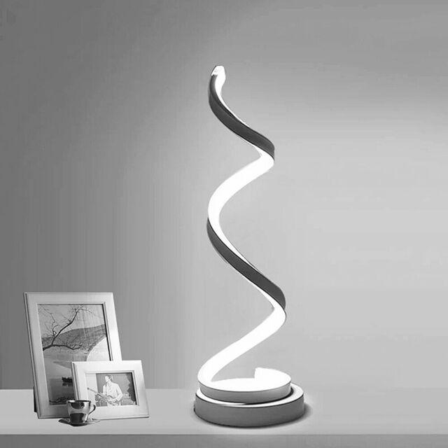Tischleuchte LED Metall Modern weiss Warmweiß dimmbar