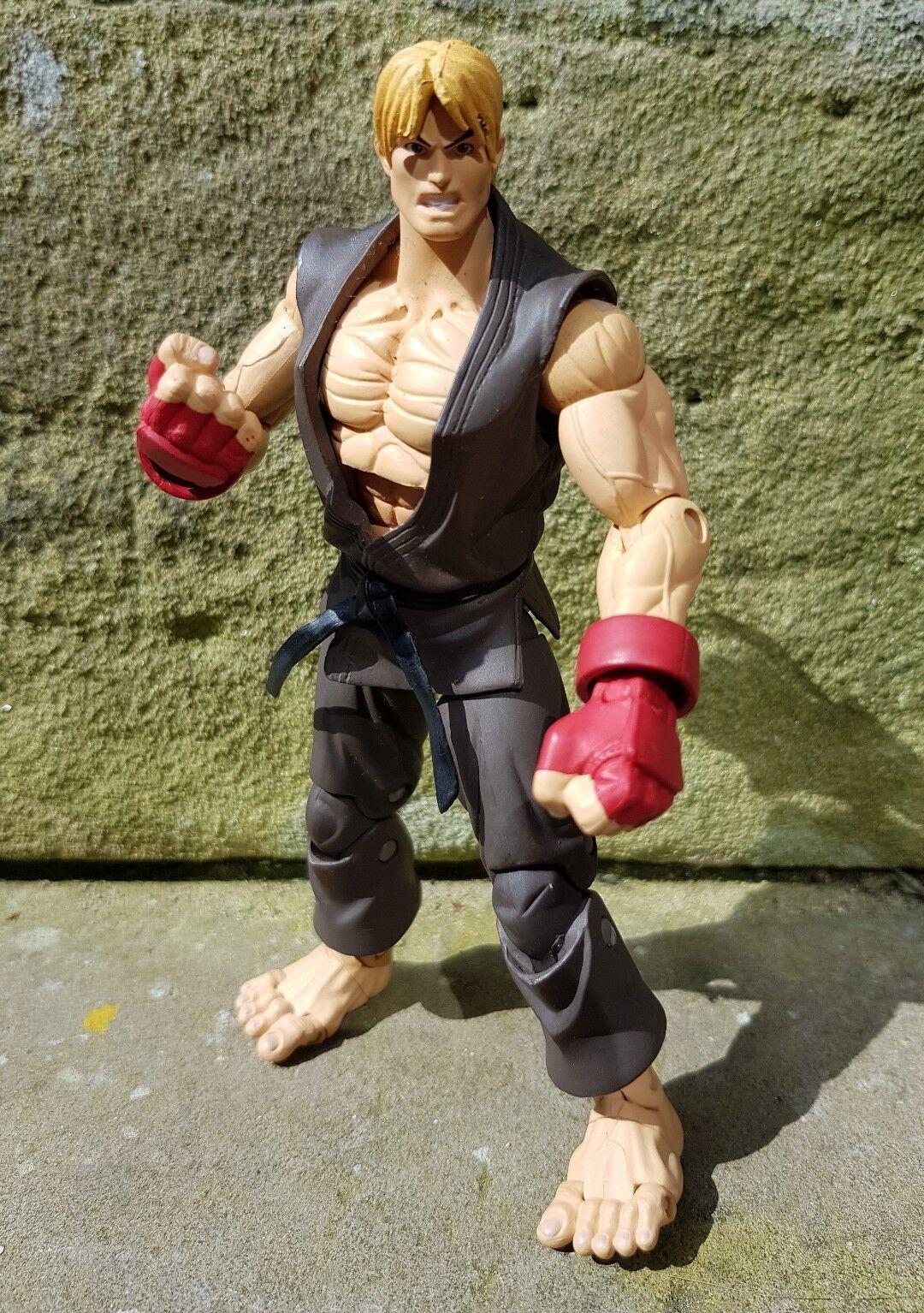 SOTA Toys - Player 2 braun Ken Street Fighter 2 Rare