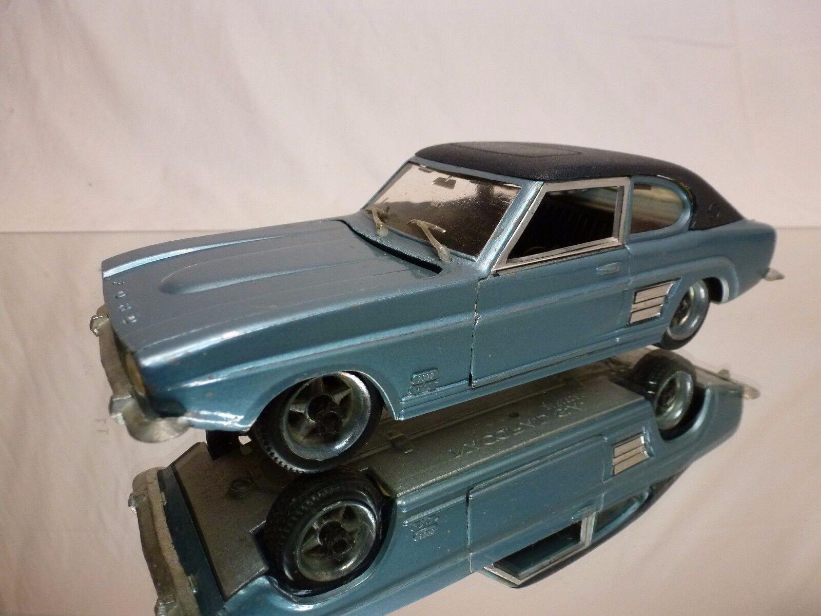 NACORAL FORD CAPRI 2600 GT -  METALLIC bleu 1 25 - GOOD CONDITION  assurance qualité