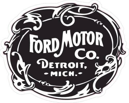"""1 4.5/"""" Vintage Repro Ford Motor Company Detroit  Decal Sticker Laminated #971"""