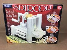 Spirooli Spiral 3-in-one Turning Slicer, as seen on TV, by Emson NIB