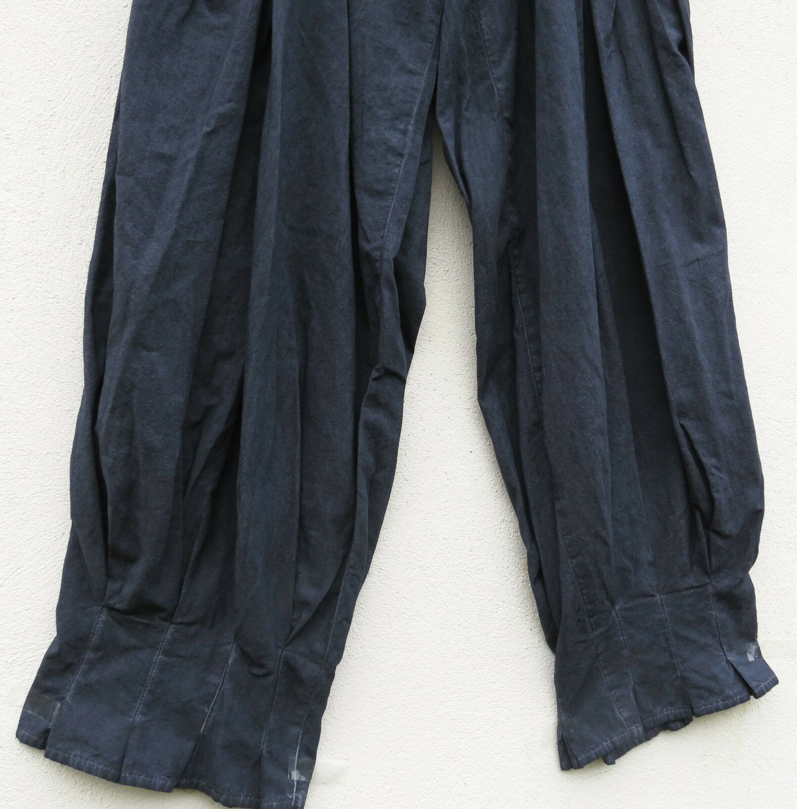 NUOVO D 'Celli pantaloni trousers pantalon pantalon pantalon 10% LINO LINEN XL 48 50 Lagenlook  1b006d