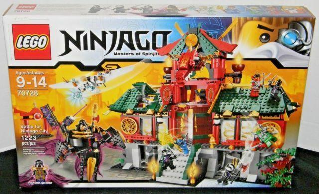 lego 70728 Battle for Ninjago City