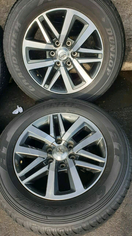 18 in TOYOTA Rims and Tyres