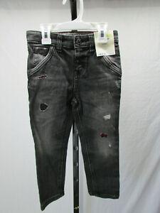 Genuine-Kids-By-Oshkosh-Boy-039-s-Toddler-Skinny-Jeans-Black-Size-3T-New