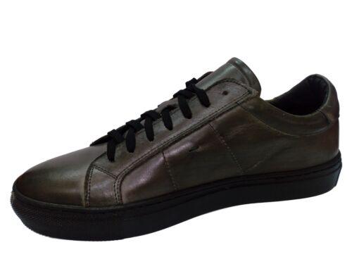 Grigio In Uomo Pelle Sneakers Tg 43 Weenchester Italy Bassa Scarpe Made T6wPYqIq