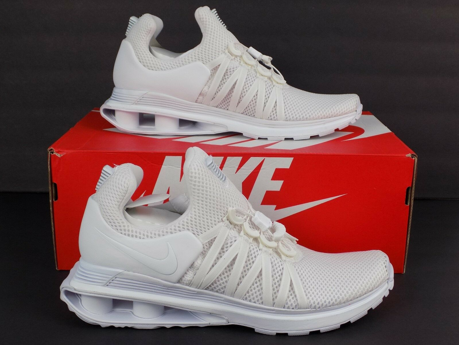 Nike Shox Gravity Mens Running Shoes White White White AR1999 100 Comfortable New shoes for men and women, limited time discount