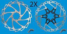 180mm Disc Rotors Pantheon Oculus 1&2-Piece Set for Shimano, SRAM, Hayes