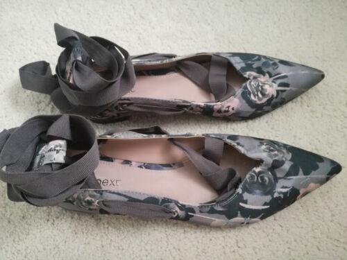 Next 5 Flat New Strap Tubular Size Womens Shoes 38 CHqOndw