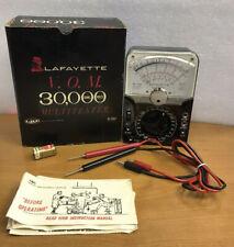 Lafayette Model 99 50841 Ohm Volt Meter Vom Multi Tester Made In Japan