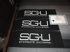 STARGATE  SGU   PROP DIRECTOR CHAIR BACK  SET  0001  PICK ONE 1 left