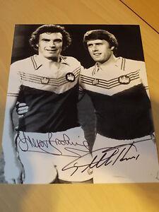 Signed-Sir-Geoff-Hurst-amp-Sir-Trevor-Brooking-West-Ham-United-12x8-Photo