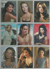 "James Bond Autographs & Relics - ""Gold Gallery"" 9 Card Chase Set #GG39-GG47"