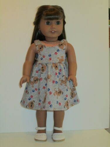 "Puppies /& Paws Sundress for 18/"" Doll Clothes American Girl"