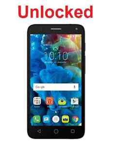 Unlocked-Alcatel-Pop-4-5-034-4G-5051X-Grey-Quad-Core-8MP-Camera-Android-6-JBL