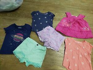 Baby Girl Clothing Bundle Size 12m Ebay