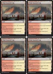 4x Wind-Scarred Crag NM-Mint English Khans of Tarkir MTG Magic